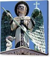 Saint Michael The Archangel Lucca Tuscany Canvas Print