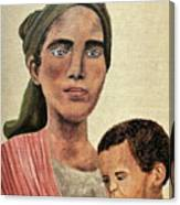 Saint Mother Canvas Print