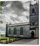 Saint Patricks Church On The Hill Of Tara Canvas Print