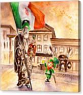 Saint Patricks Pub Canvas Print