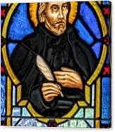 Saint Peter Canisius Canvas Print