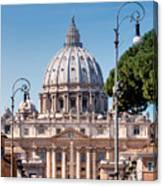 Saint Peter's Tomb Canvas Print