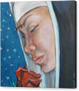 Saint Rita Of Cascia Canvas Print