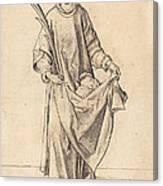 Saint Stephen Canvas Print