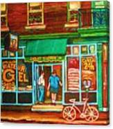 Saint Viateur Bakery Canvas Print