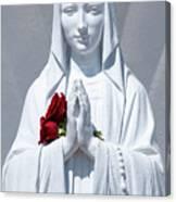 Saint Virgin Mary Statue #1 Canvas Print