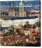 Saint Vitus Cathedral 1 Canvas Print