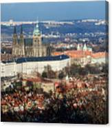 Saint Vitus Cathedral 2 Canvas Print