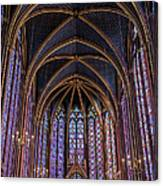 Sainte Chapelle Stained Glass Paris Canvas Print
