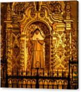 Saints Chapel Canvas Print