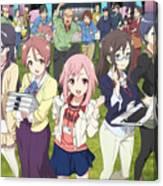 Sakura Quest Canvas Print