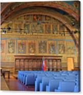 Sala Dei Notari 13th Century Canvas Print