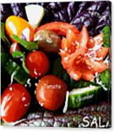 Salad Canvas Print