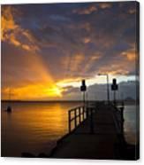 Salamander Bay Sunrise Canvas Print
