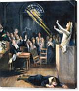 Salem Witch Trial, 1692 Canvas Print