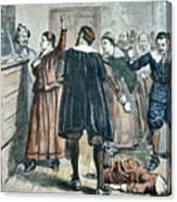 Salem Witch Trials Canvas Print