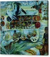 Salers Of Treasures. Canvas Print