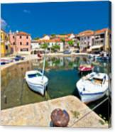 Sali Village On Dugi Otok Island Canvas Print
