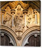 Salisbury Cathedral Doors Canvas Print