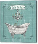 Salle De Bain Canvas Print