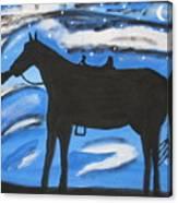 Sally And Sunny Canvas Print