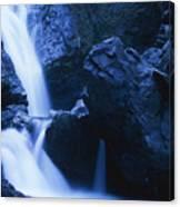 Salmon Creek Falls Canvas Print