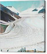 Salmon Glacier, Frozen Motion Canvas Print