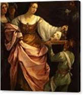 Salome With The Head Of St John Baptist 1640 Canvas Print