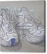 Sal's Sneakers Canvas Print