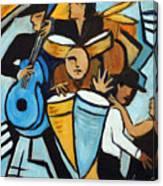 Salsa Night Canvas Print