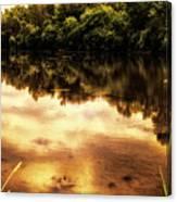 Salt Creek On A August Morning Canvas Print