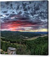 Salt Creek Sunrise Canvas Print