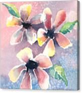 Salt Flowers Canvas Print