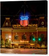 Salt Lake City Union Pacific Depot Canvas Print