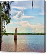 Salt Mine Disactor Monument Jefferson Island Louisiana  Canvas Print