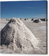 Salt Production Canvas Print