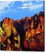Salt River Canyon Canvas Print