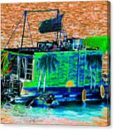 Salt Water Living Canvas Print
