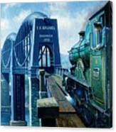 Saltash Bridge. Canvas Print