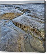 Saltings Channel Canvas Print