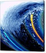Salty Lux Wave Canvas Print