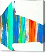 Salty Shark Canvas Print