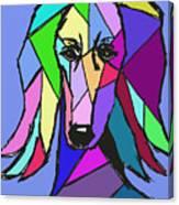 Saluki Colors Canvas Print
