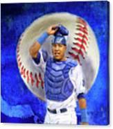 Salvador Perez-kc Royals Canvas Print
