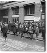 Salvation Army, 1908 Canvas Print