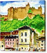 Salzburg Austria Jgibney The Museum Canvas Print
