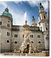 Salzburg Cathedral Canvas Print