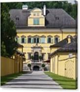 Salzburg Chateau Canvas Print