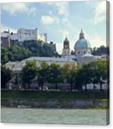 Salzburg City View Five Canvas Print