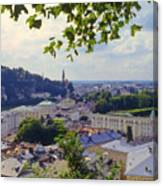 Salzburg City View Four Canvas Print